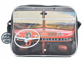 VW Red Dashboard Campervan Retro Shoulder Bag