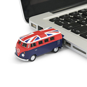 VW Union Jack Campervan 8GB USB Memory Stick
