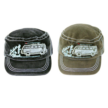 VW Surf The Street Campervan Military Cap
