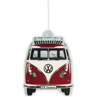 VW Campervan Air Freshener - Vanilla Red