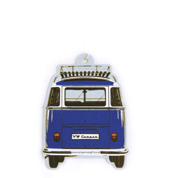 VW Campervan Air Freshener - Ocean Blue
