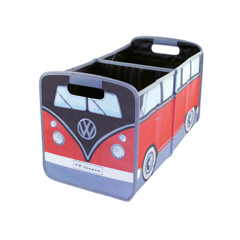 VW Black & Red Campervan Foldable Storage Organiser