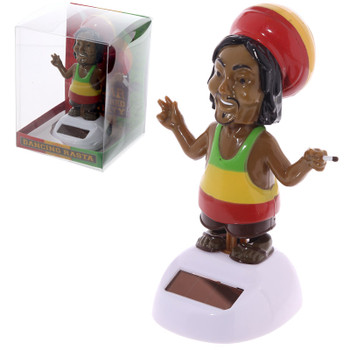 Solar Powered Dancing Rasta
