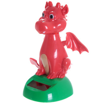 Solar Powered Dancing Welsh Dragon