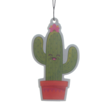 Happy Cactus Lime Air Freshener