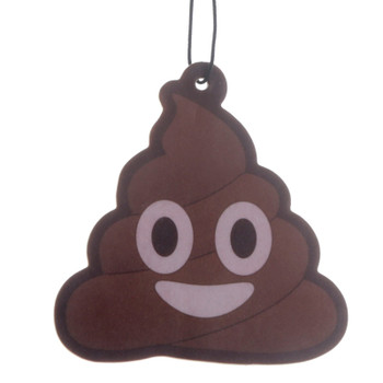 Emoji Poop Chocolate Air Freshener