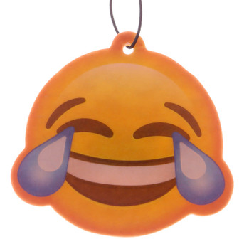 Emoji LOL Laugh Out Loud Blueberry Air Freshener