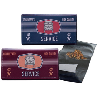 Volkswagen Campervan Service Tobacco Pouch