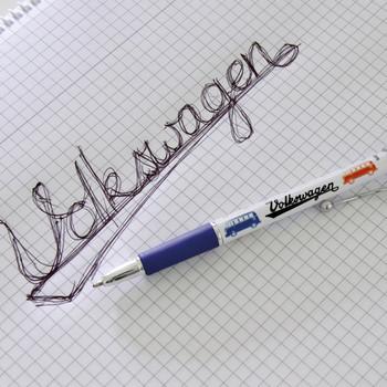 Volkswagen Blue Campervan Charm Pen