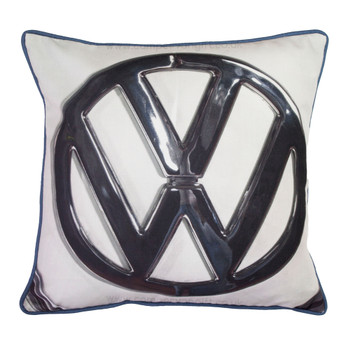 Volkswagen VW Roundel Logo Campervan Cushion