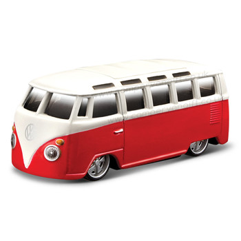 VW Miniture Slammed Red Diecast Campervan