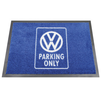 VW Parking Only Campervan Doormat
