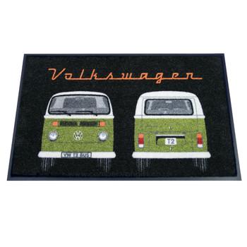 Green Bay Window Front & Rear VW Campervan Doormat