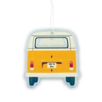 VW T2 Bay Campervan Air Freshener - Vanilla Orange