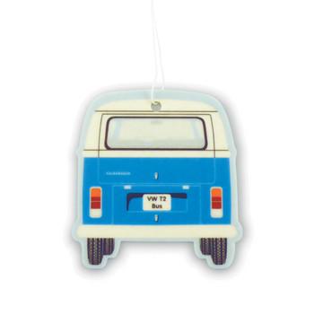 VW T2 Bay Campervan Air Freshener - Fresh Blue