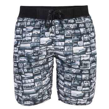 Volkswagen Campervan Mens Beach Shorts
