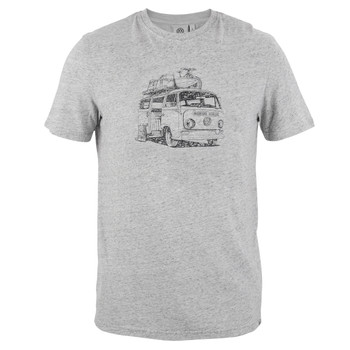 Volkswagen Grey Bay Campervan Mens T-Shirt