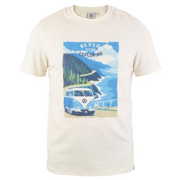 Volkswagen Campervan Exploring Mens T-Shirt
