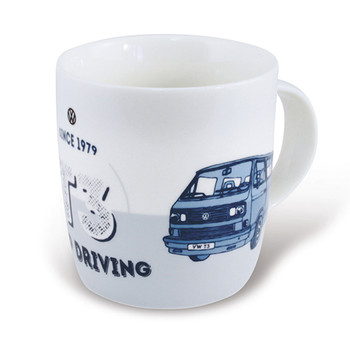 Volkswagen Campervan T25 Keep Driving Mug