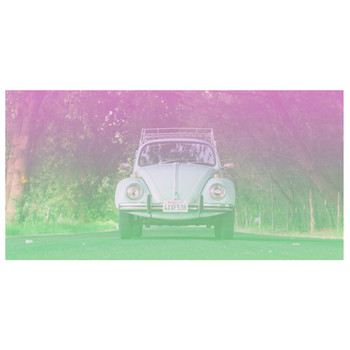 Volkswagen California Beetle Beach Towel