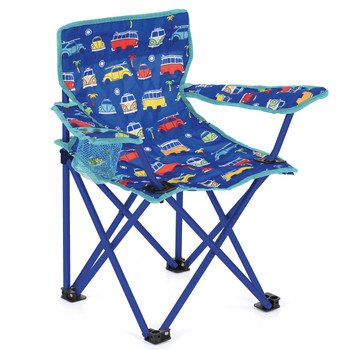 Volkswagen Campervan Kids Blue Camping Chair
