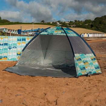 Volkswagen Campervan Blue Beach Shelter