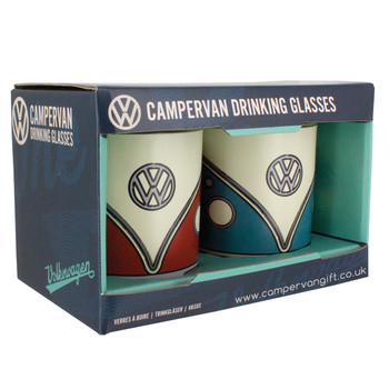 Volkswagen Campervan Drinking Glasses