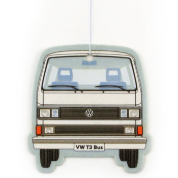 VW T25 Campervan Air Freshener - White Pina Colada