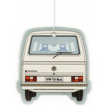 VW T25 Campervan Air Freshener - White Pina Colada