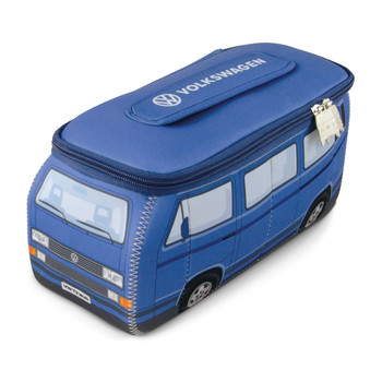 VW Blue T25 Campervan Universal Neoprene Wash Bag