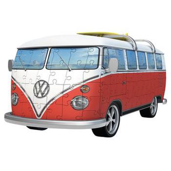 Volkswagen Campervan Large 3D Puzzle