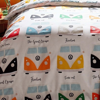 Volkswagen Multi Campervan Duvet and Pillow Case Set