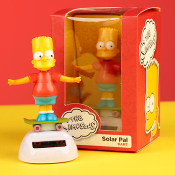 Solar Powered Dancing Bart Simpson
