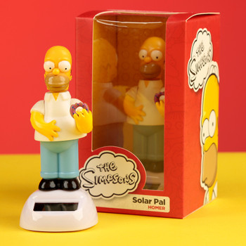 Solar Powered Dancing Homer Simpson