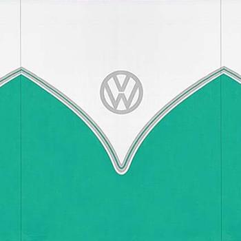 Volkswagen Green Campervan 5 Pole Windbreak