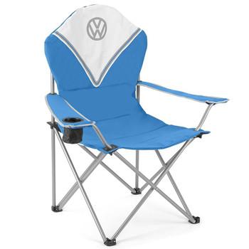 Volkswagen Blue Campervan Deluxe Camping Chair