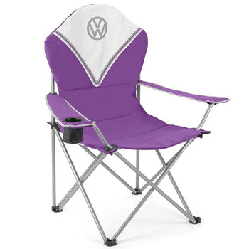 Volkswagen Purple Campervan Deluxe Camping Chair