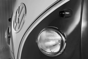 Monochromatic Campervan Giant Wallpaper VW Wall Mural