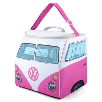 Volkswagen Campervan Pink Large Cool Bag