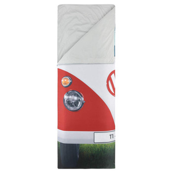 Volkswagen Campervan Red Single Sleeping Bag