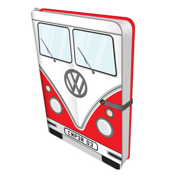 Volkswagen Campervan Red Travel Journal