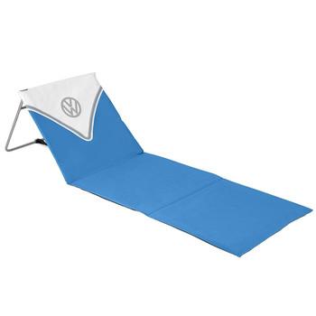 Volkswagen Blue Campervan Folding Lounger Beach Mat