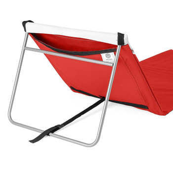Volkswagen Red Campervan Folding Lounger Beach Mat