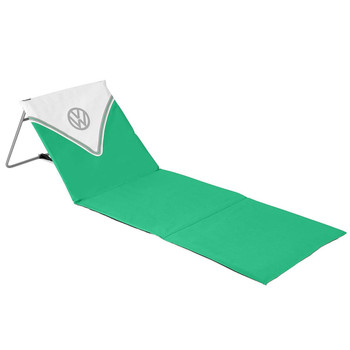 Volkswagen Green Campervan Folding Lounger Beach Mat