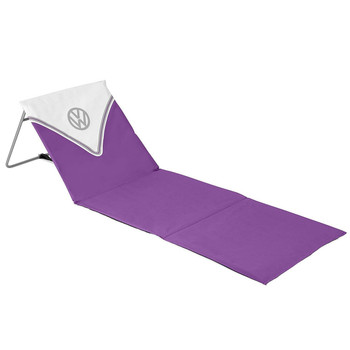 Volkswagen Purple Campervan Folding Lounger Beach Mat