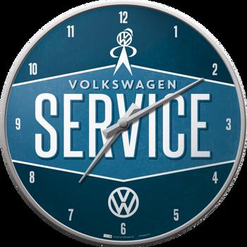 Volkswagen Campervan VW Service Wall Clock