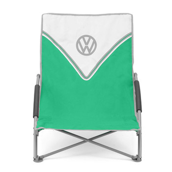 Volkswagen Green Campervan Folding Low Camping Chair