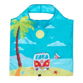Volkswagen Campervan Foldable Beach Shopper Bag