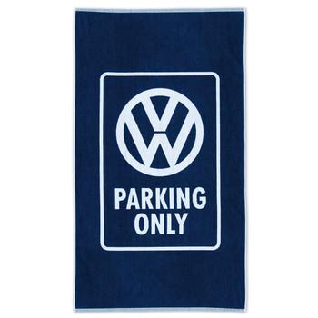 Volkswagen Campervan Parking Only Beach Towel