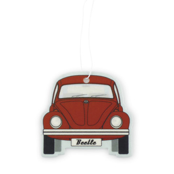 VW Beetle Air Freshener - Melon Red